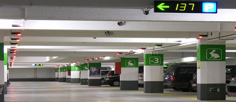 Parking Systems Mega Mall